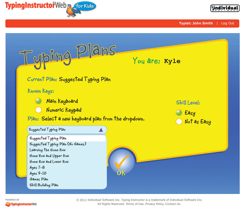 Home Typinginstructorweb For Kids